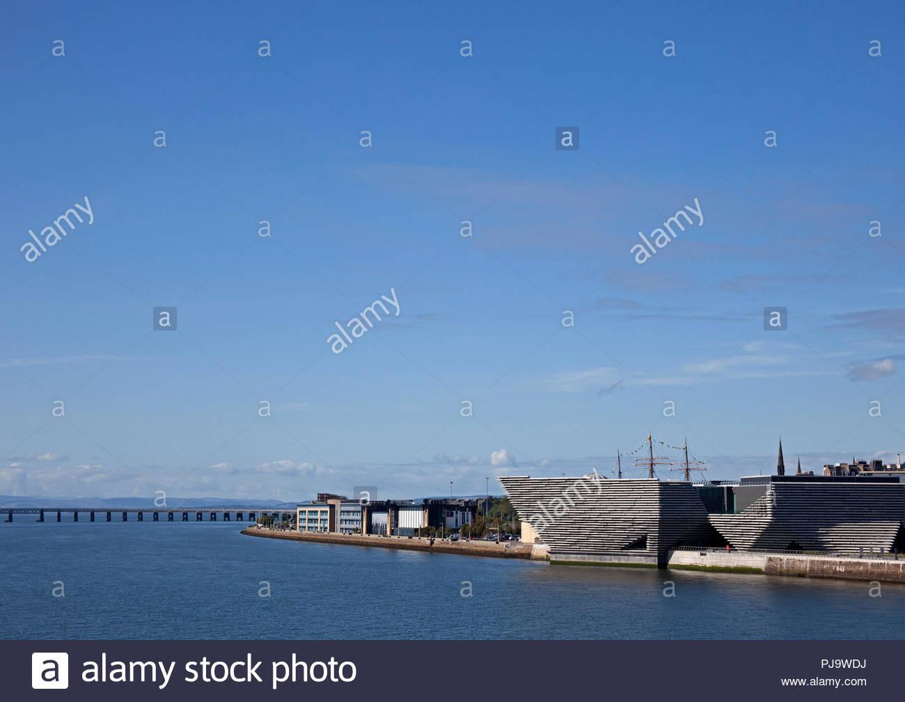 Dundee waterfront, Dundee city, Scotland, UK, Europe - Stock Image