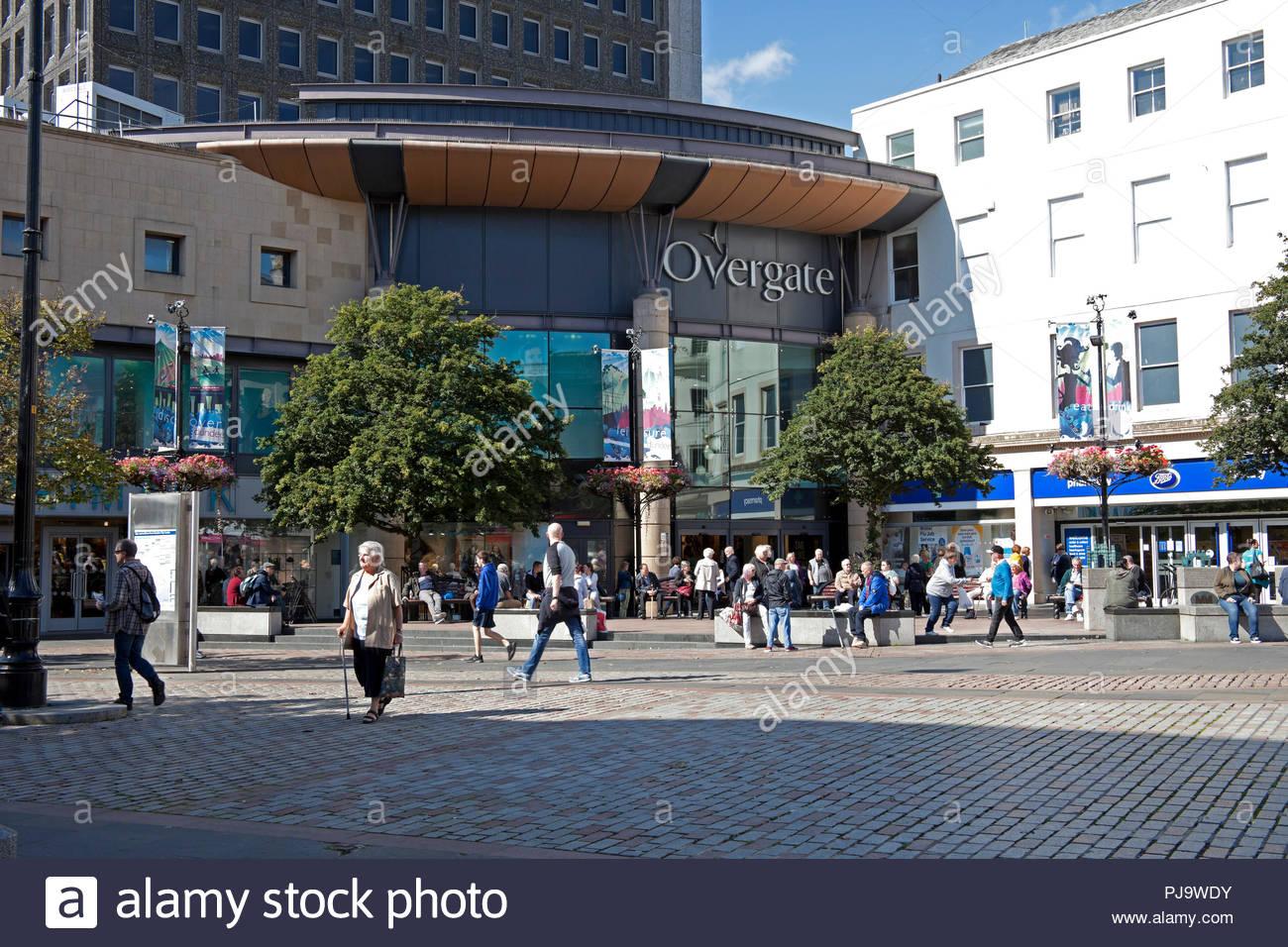 Dundee, city centre, Tayside, Scotland, UK, Europe - Stock Image