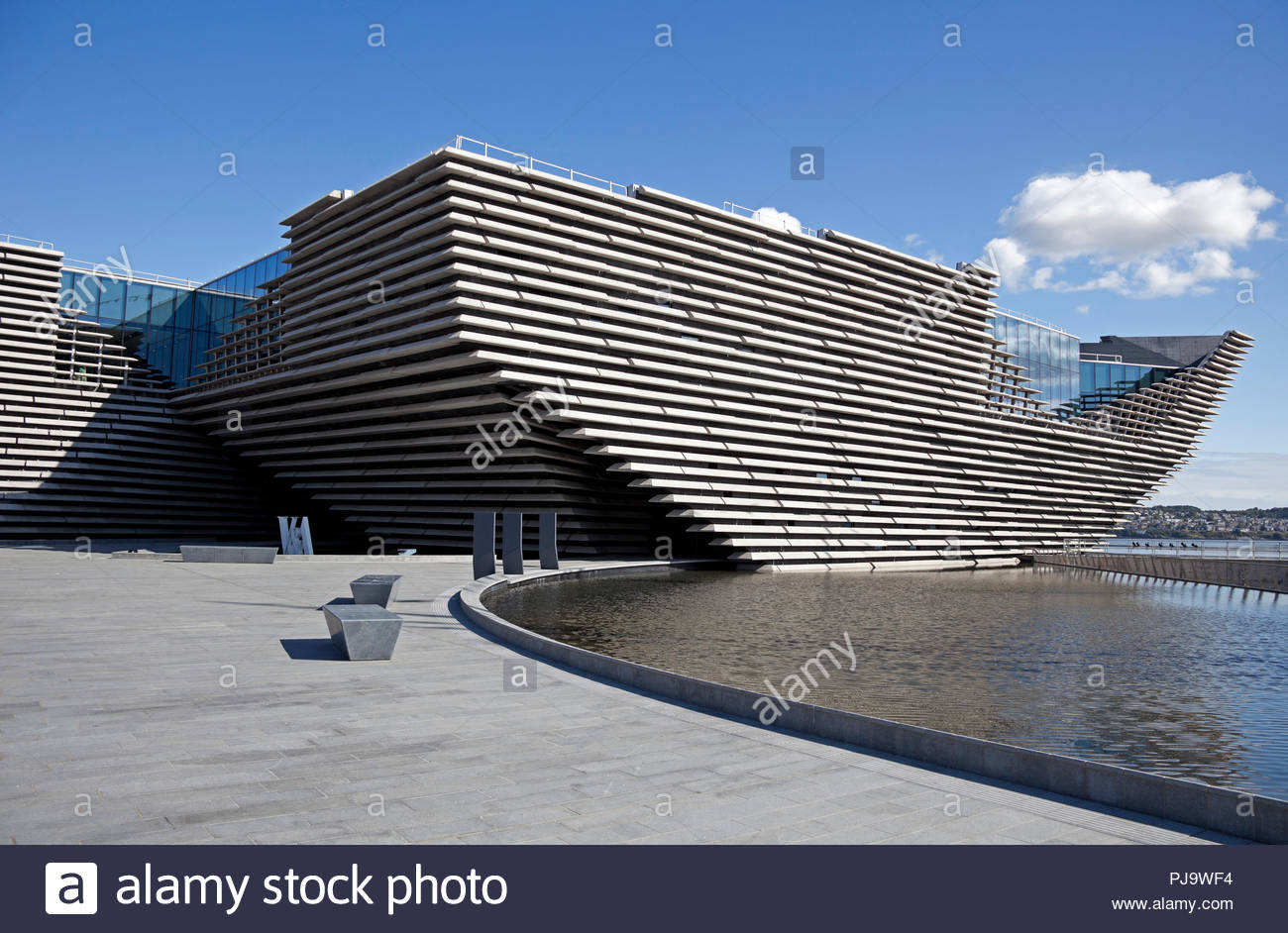 V & A, V&A, Victoria and Albert Museum, Dundee, Scotland, UK, Europe - Stock Image