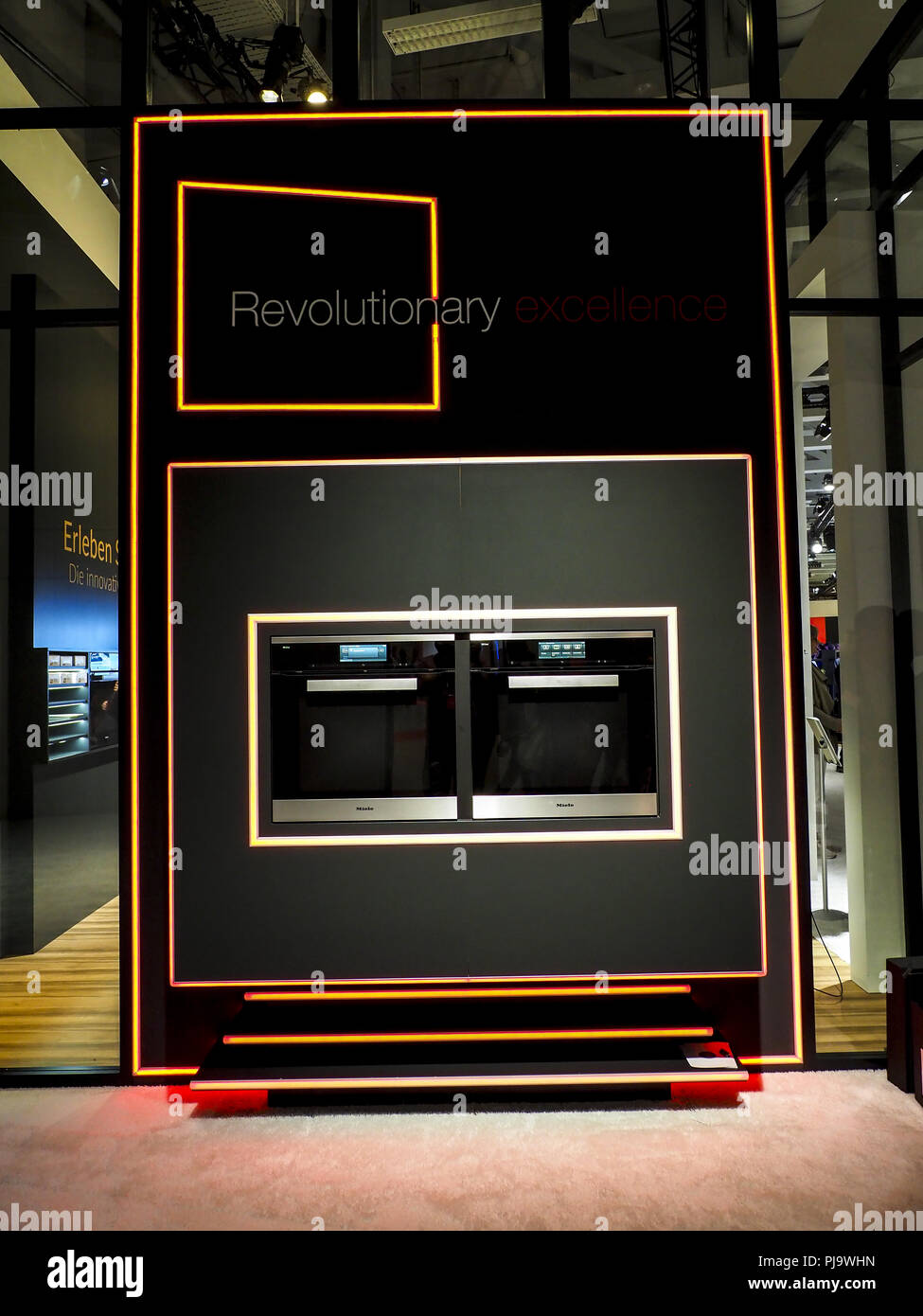 Miele Neuheiten 2018 : miele ifa 2018 berlin internationale funkaustellung stock photo 217805889 alamy ~ Aude.kayakingforconservation.com Haus und Dekorationen