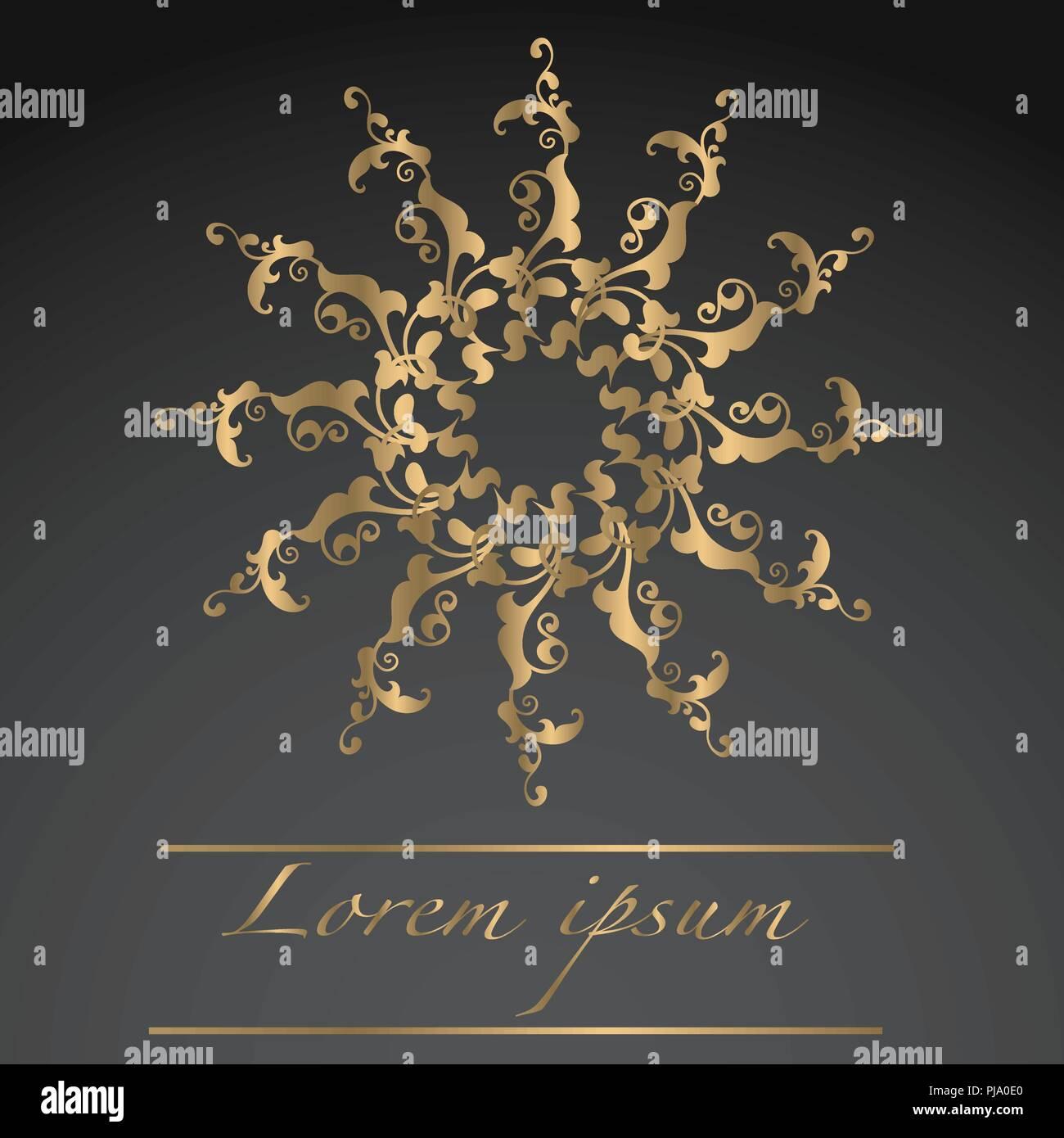 Luxury Ornament Design - Stock Image