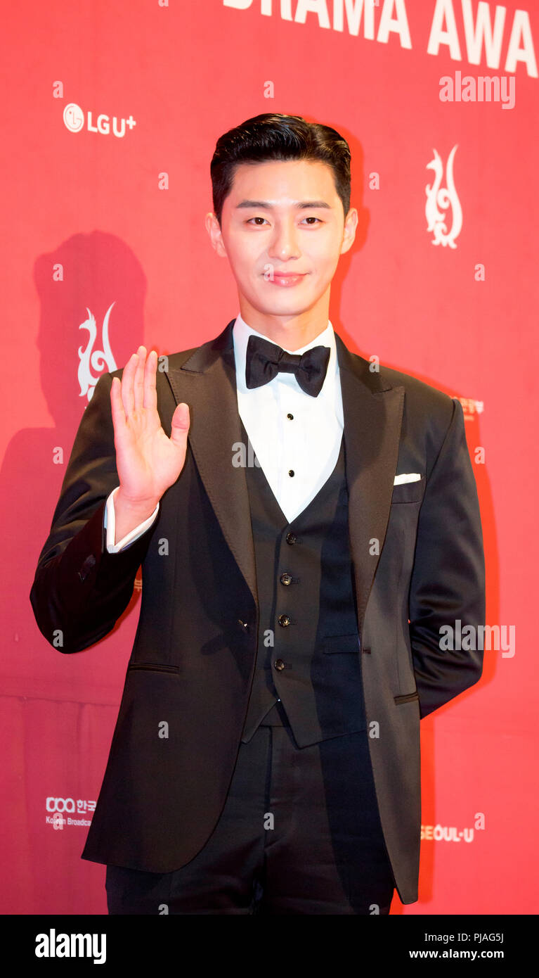 Park Seo-Joon, Sep 3, 2018 : South Korean actor Park Seo-Joon during