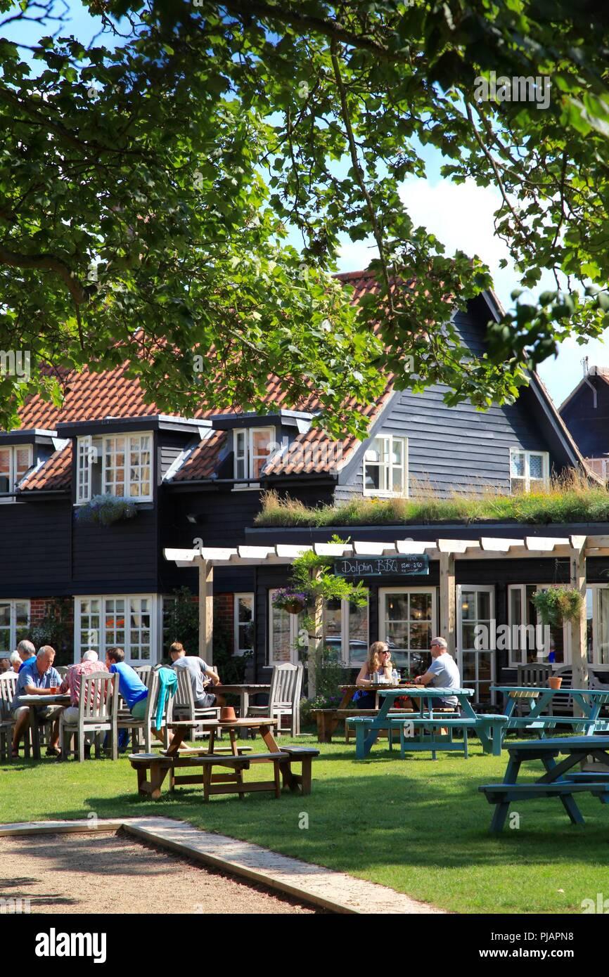 The Dolphin Inn Thorpeness Suffolk UK - Stock Image