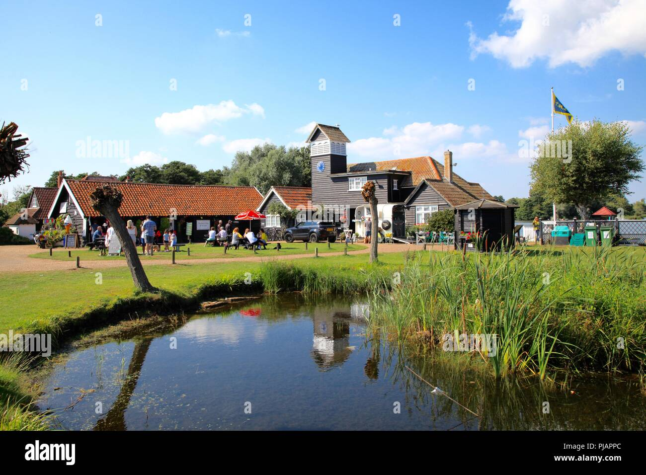 The Meare at Thorpeness Suffolk UK summer 2018 - Stock Image