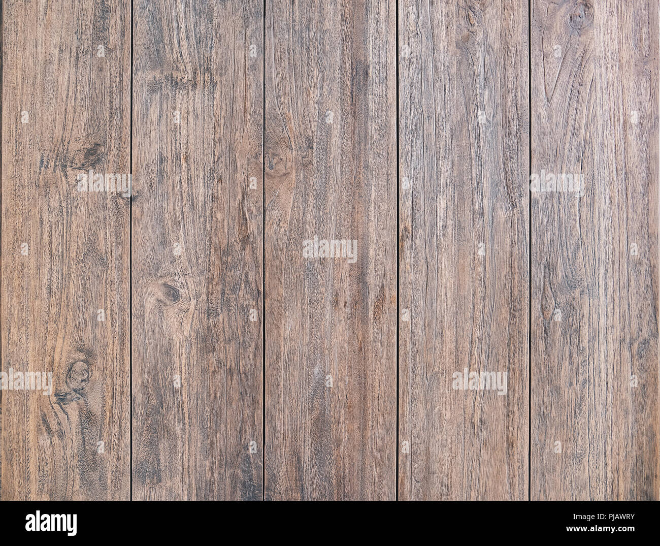Wood table top view texture, use us wooden texture background used as space for text or image backdrop design - Stock Image