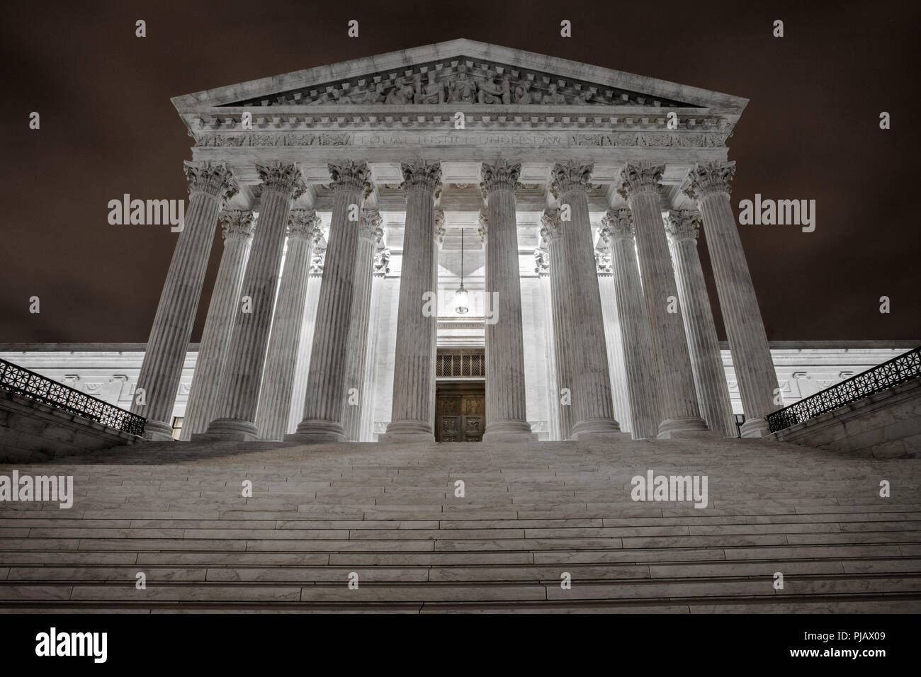U.S. Supreme Court, Washington D.C. - Stock Image