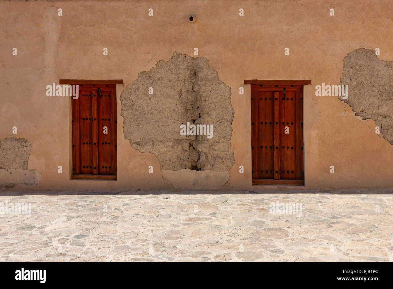 Nizwa, Nizwa Fort, Sultanate of Oman. - Stock Image