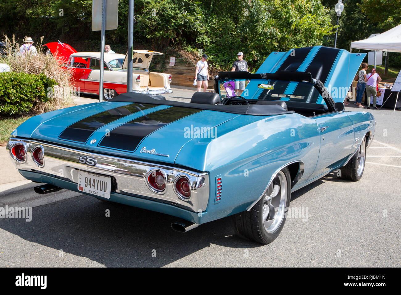 2018 Chevelle Ss >> Matthews Nc Usa September 3 2018 A 1971 Chevy