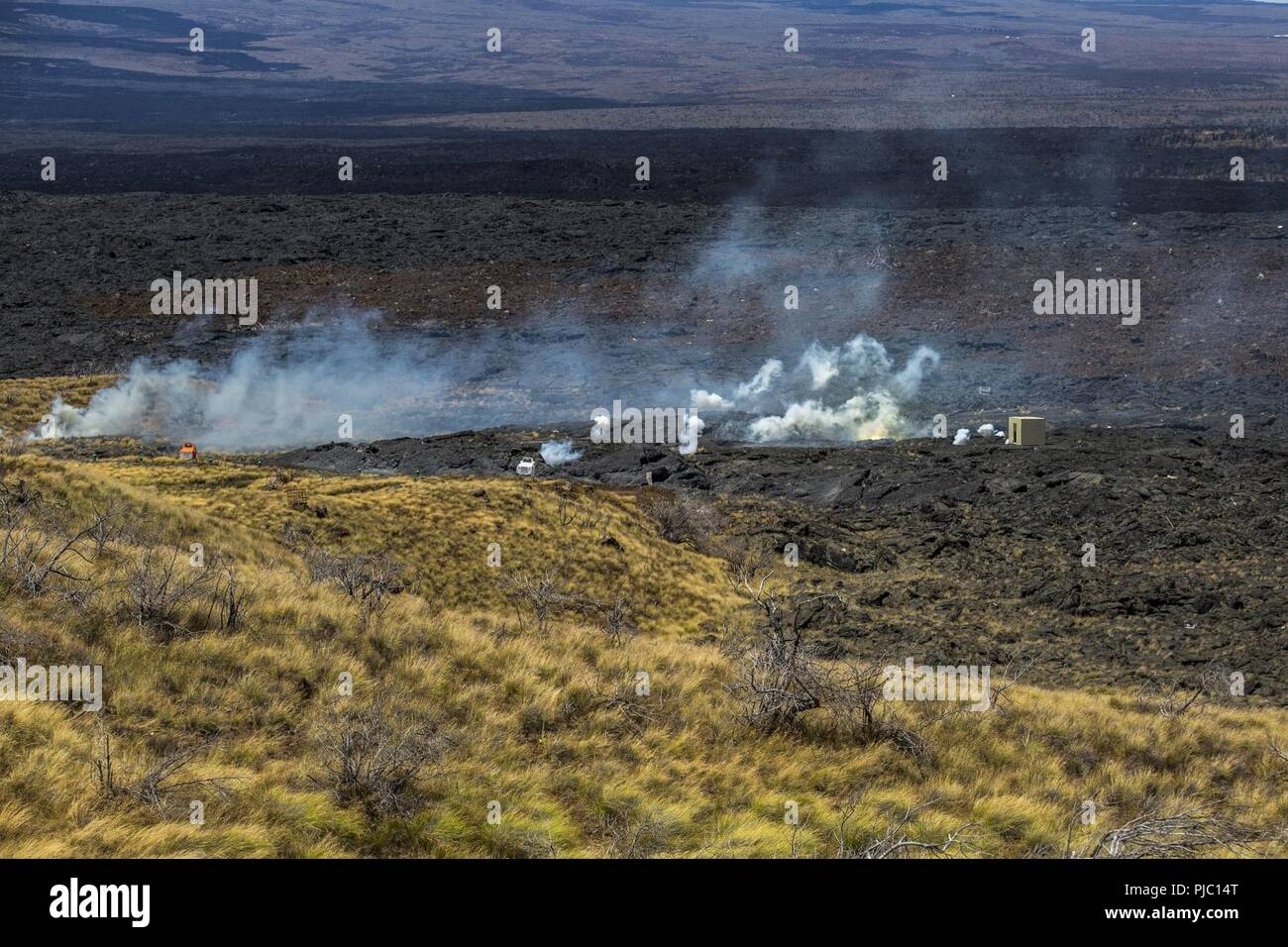 The Collateral Damage Of Testing >> Pohakuloa Training Area Hawaii July 16 2018 81mm Experimental