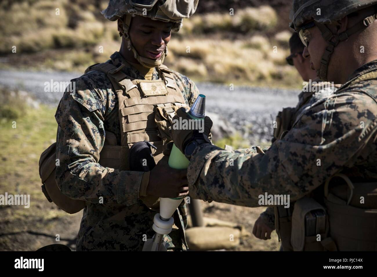 The Collateral Damage Of Testing >> Pohakuloa Training Area Hawaii July 16 2018 U S Marines With