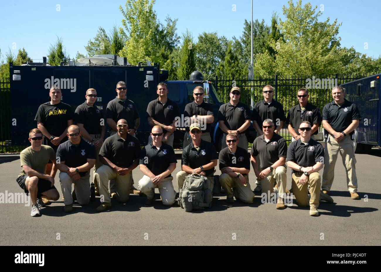 Members of the Oregon National Guard's 102nd Weapons of Mass