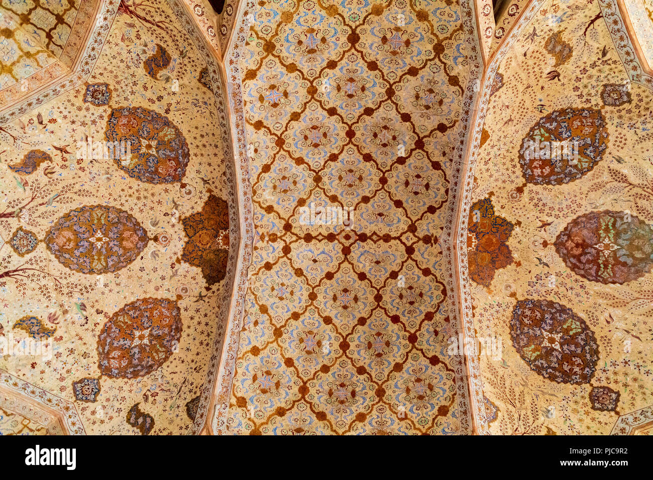 Islamic Republic of Iran  Isfahan  Ali Qapu grand palace, located on