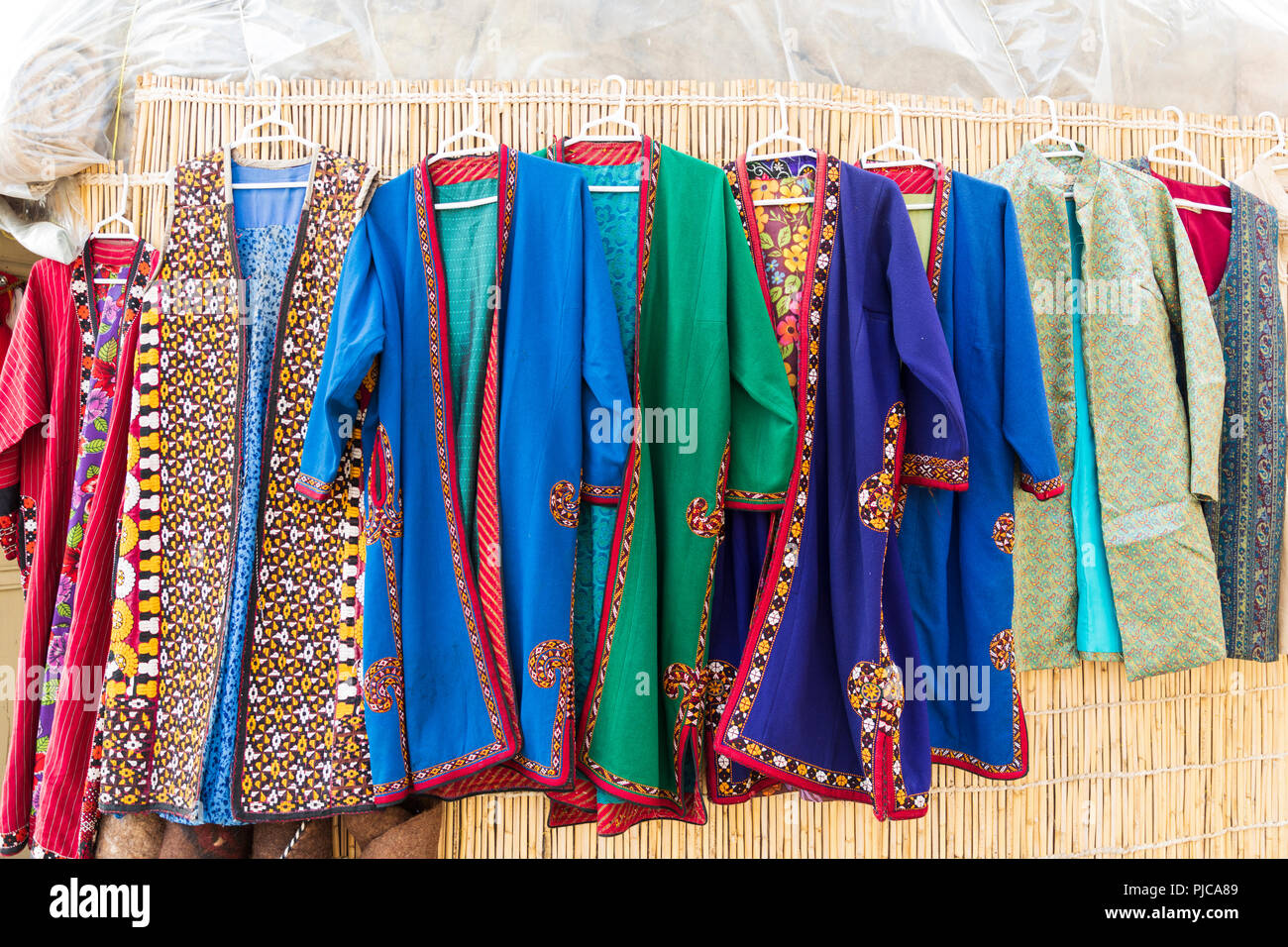 bbc9ef6c20ce Iran. Isfahan. Traditional clothing for sale Stock Photo  217859721 ...