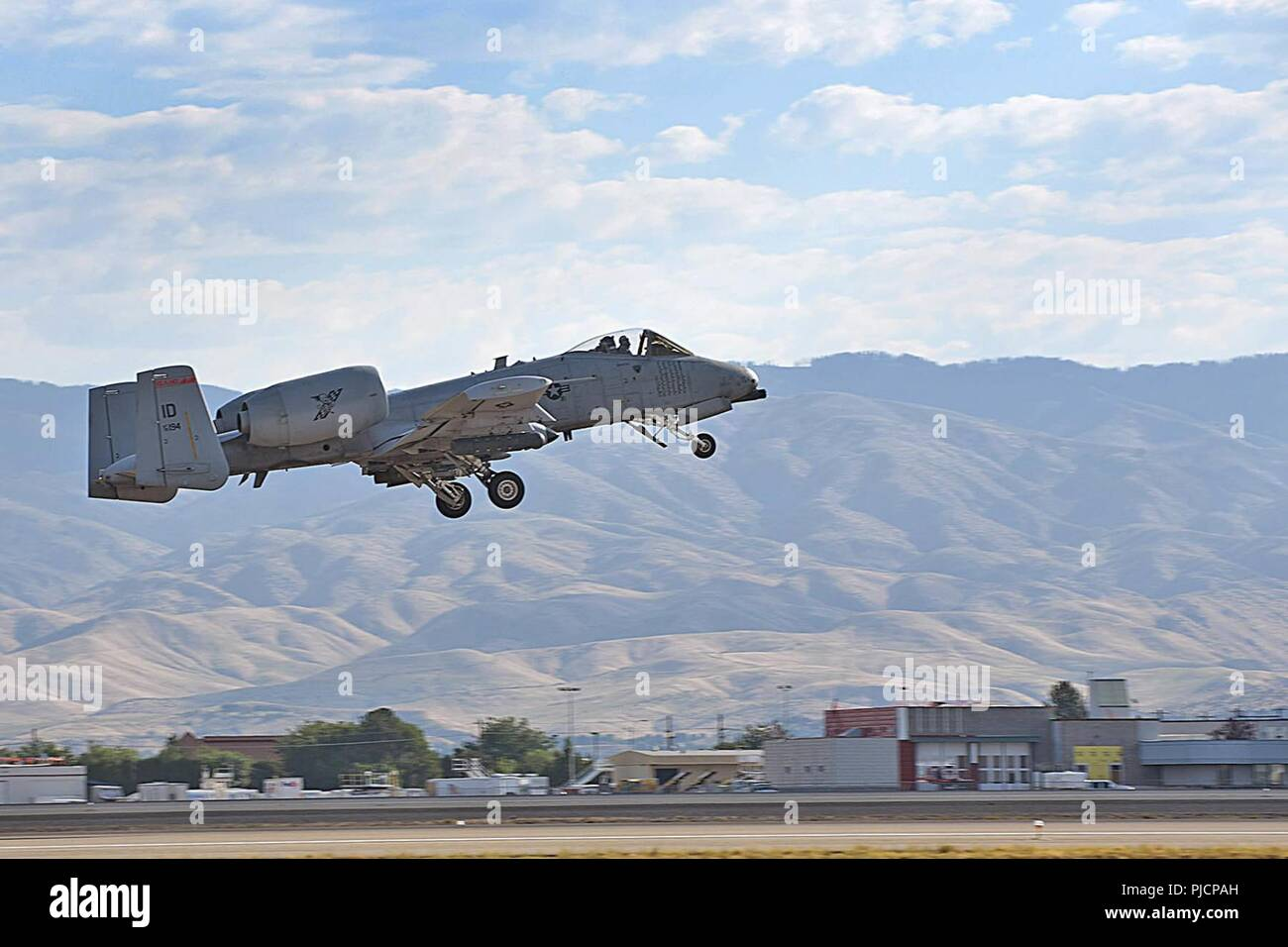 A 124th Fighter Wing, Idaho Air National Guard A-10 Thunderbolt II