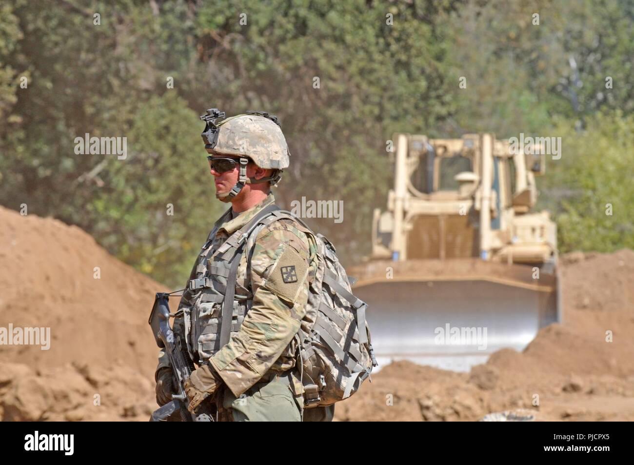 U S  Army Reserve Spc  Jacob Jackson, 779th Engineer Company, 463rd