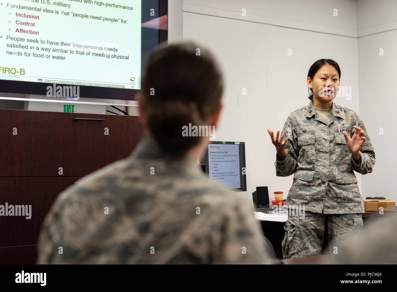 Joanna Ho 548th Intelligence Surveillance And Reconnaissance Group Airmen Resiliency Team Operational Psychologist