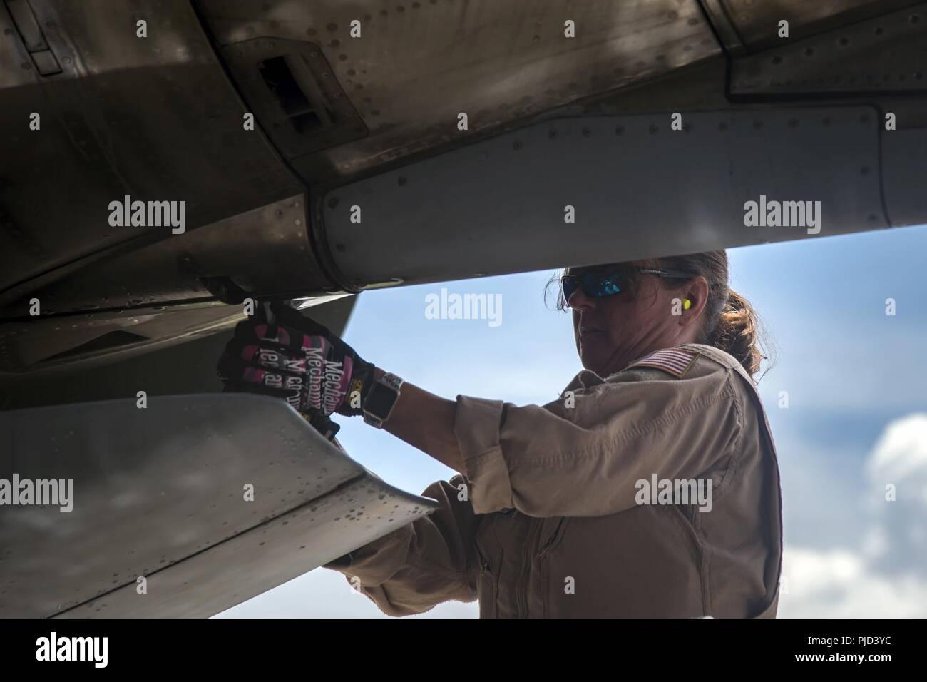 Master Sgt  Angelia Gholson, 164th Aircraft Maintenance