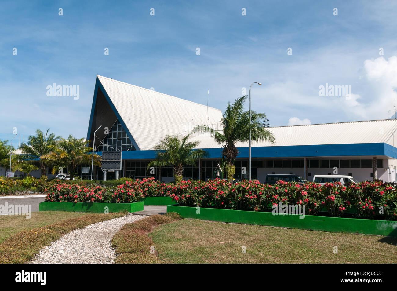 Honiara International Airport, Henderson Field, Honiara, Guadalcanal, Solomon Islands - Stock Image
