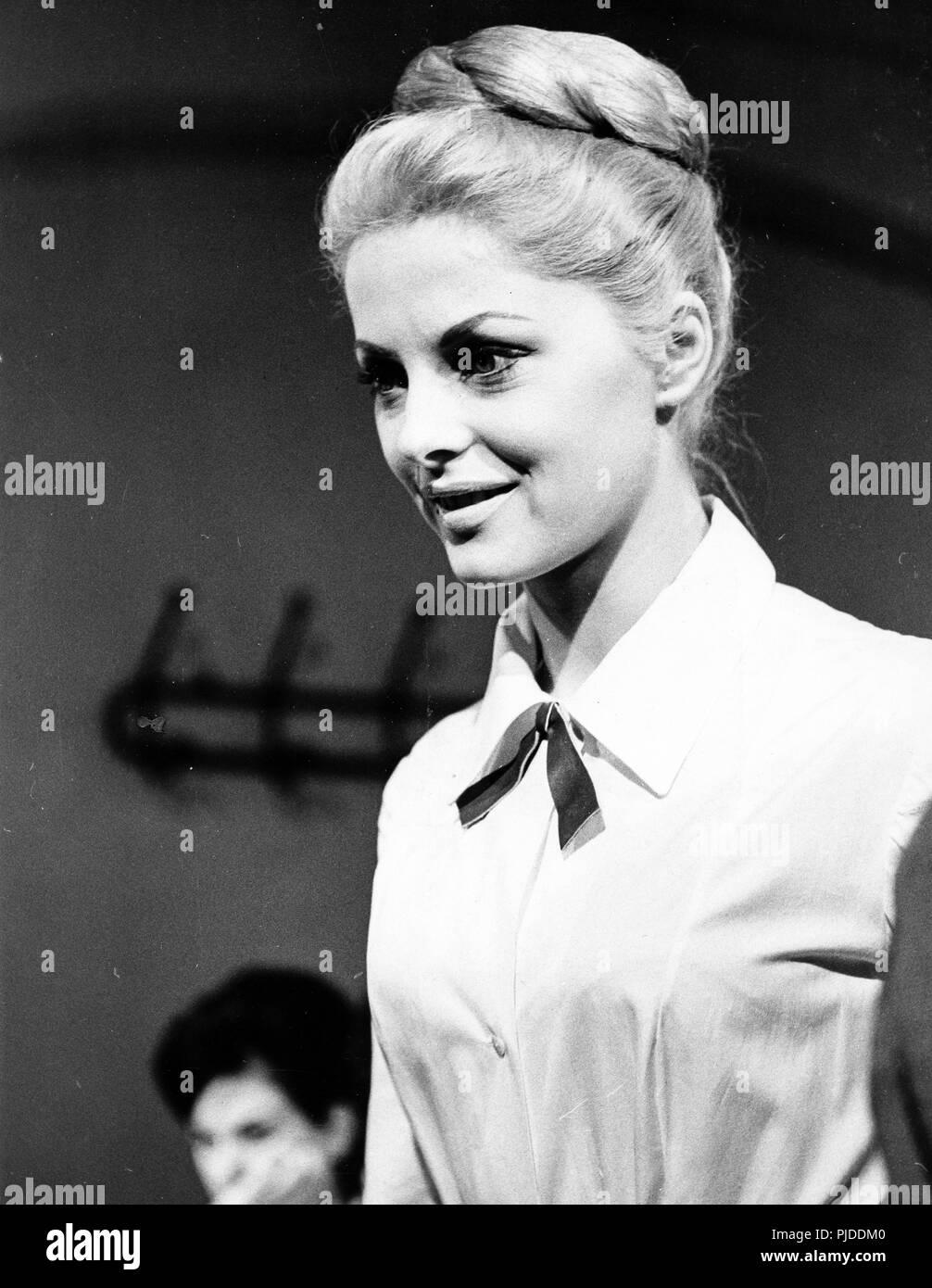 virna lisi, 5 marines per 100 ragazze, 1961 - Stock Image