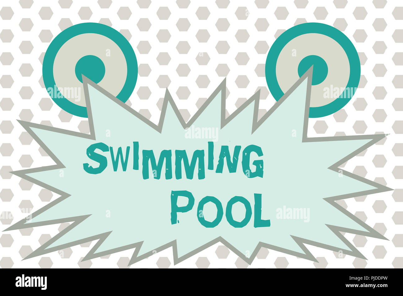 Word writing text Swimming Pool. Business concept for ...