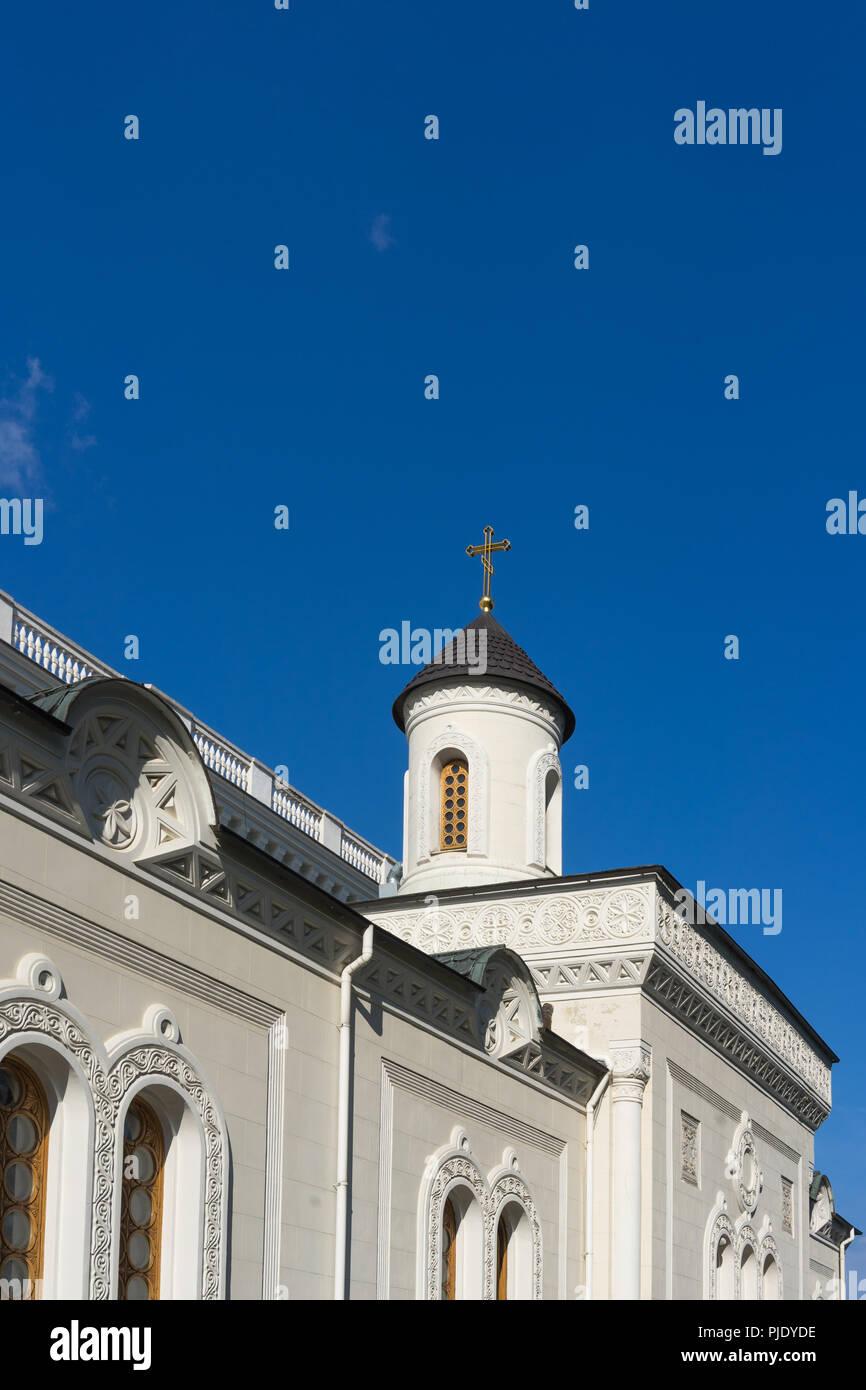 Yalta, Crimea-may 30, 2016: The house Church of the Romanov family in Livadiya - Stock Image