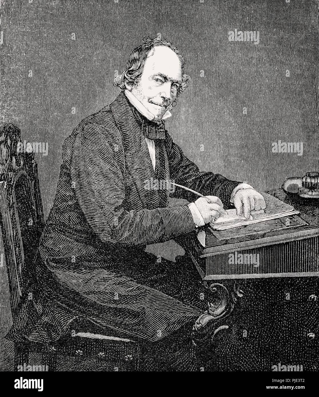 Adam Black, 1784 –1874, a Scottish publisher and politician - Stock Image