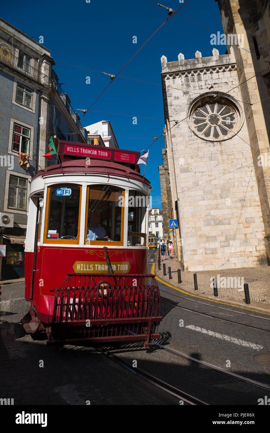 Lisbon Trams Stock Photos & Lisbon Trams Stock Images
