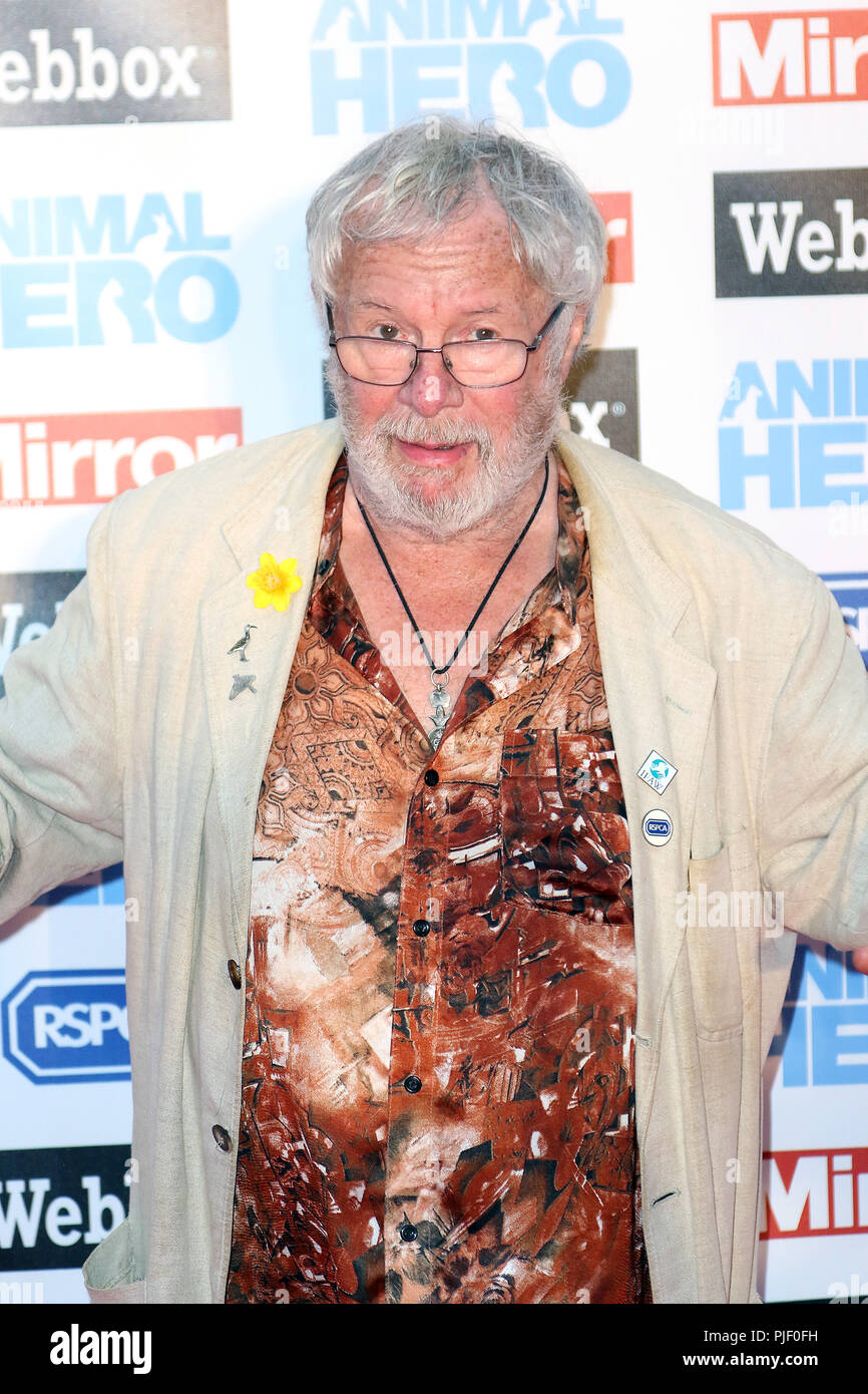London, UK. 6th September, 2018. Bill Oddie, Animal Hero Awards, Grosvenor House Hotel, London, UK, 06 September 2018, Photo by Richard Goldschmidt Credit: Rich Gold/Alamy Live News Stock Photo