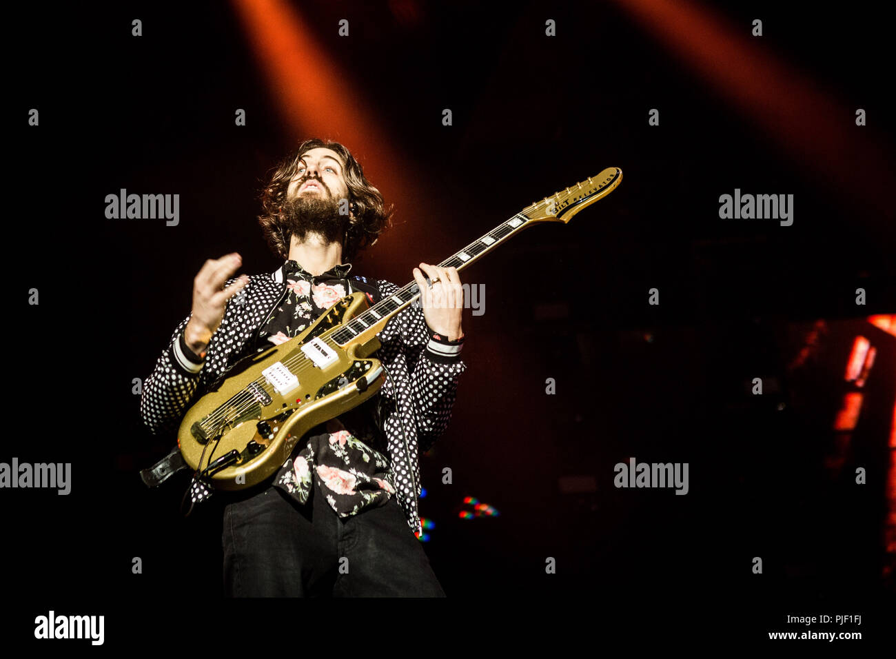 Rho Milan Italy 6 september 2018 Imagine Dragons live at Milano Rocksl 2018 at Area Expo Experience © Roberto Finizio / Alamy Credit: Roberto Finizio/Alamy Live News - Stock Image