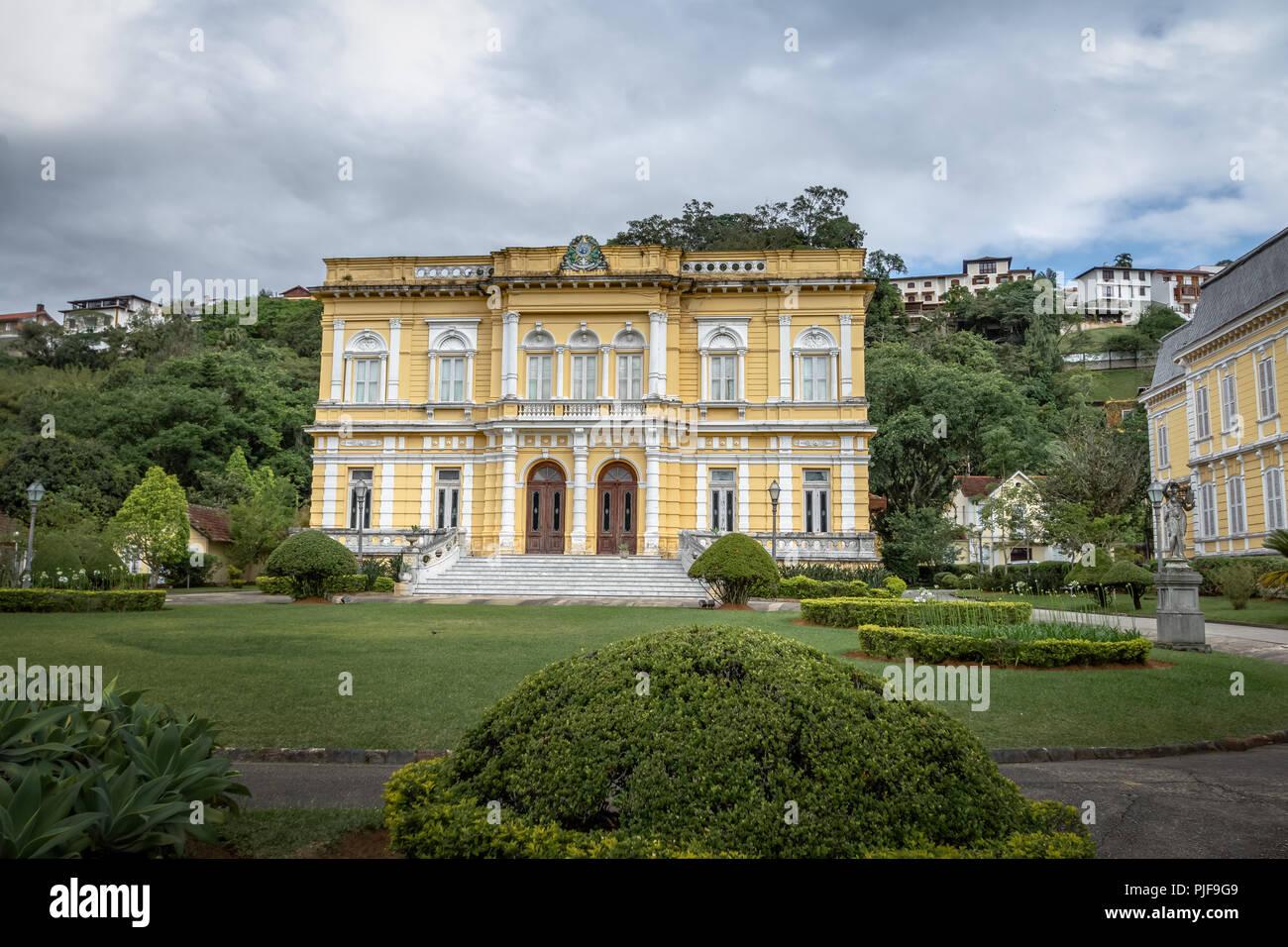 Rio Negro Palace - Petropolis, Rio de Janeiro, Brasil - Stock Image