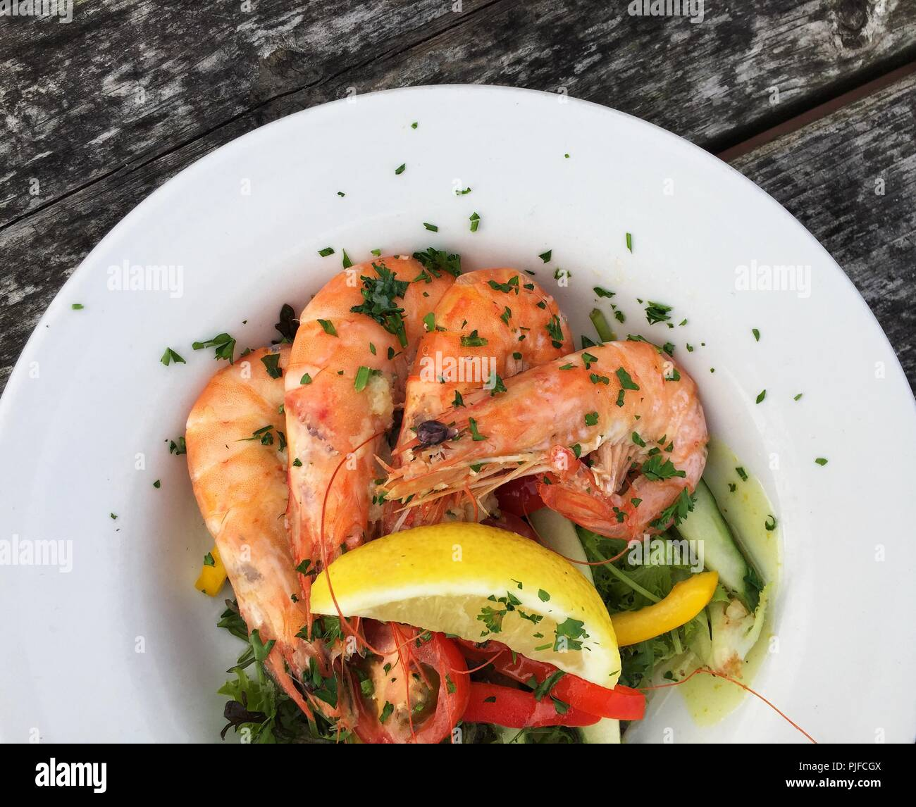 how to keep prawns fresh