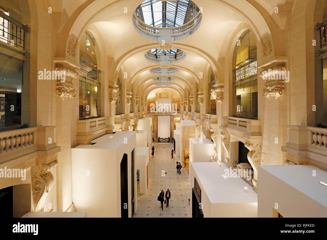Paris 1st Arrondissement Museum Of Decorative Arts Main Hall