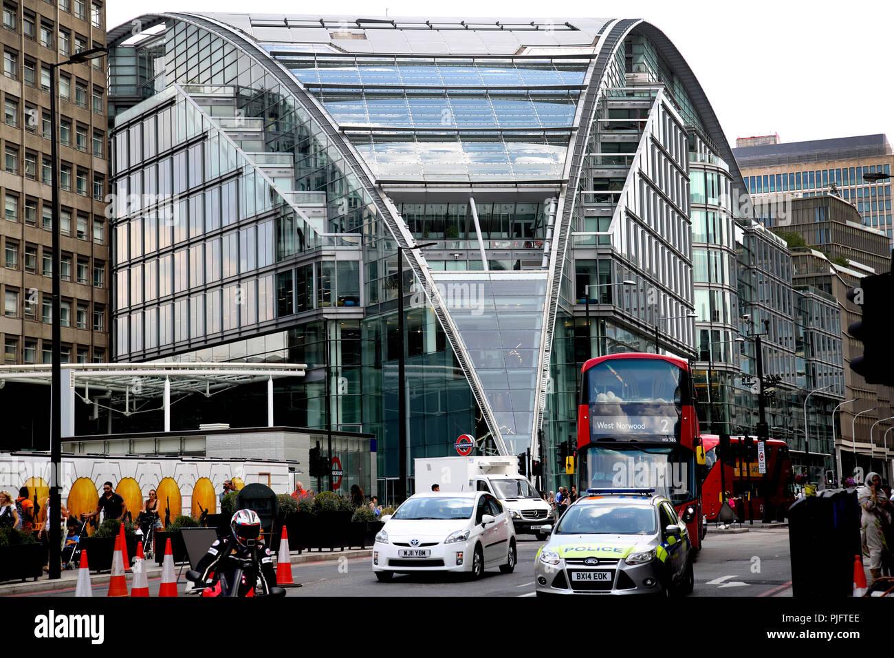 City Of London Police Car Stock Photos & City Of London
