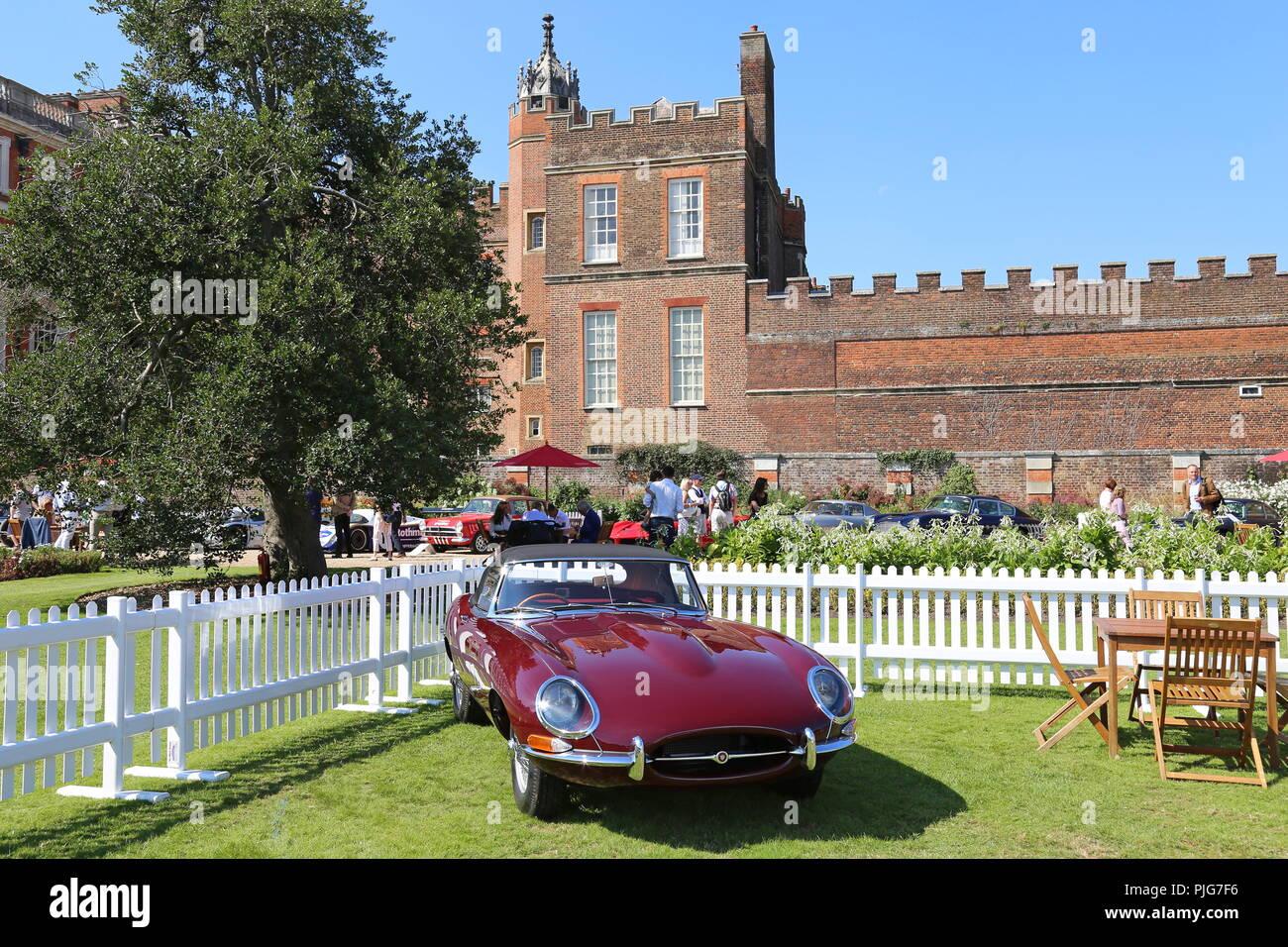 Jaguar E Type Series 1 1961 British Legends Members Enclosure
