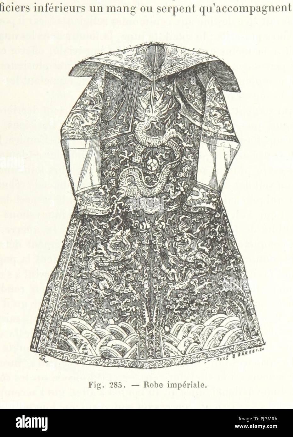 Image  from page 387 of 'Le Monde vu par les artistes. Géographie artistique. . Ouvrage. - Stock Image
