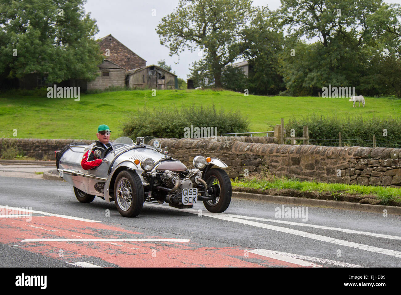 2005 Pembleton G/hopper Classic, vintage, veteran, cars of yesteryear, restored collectibles at Hoghton Tower Car Rally, UK - Stock Image