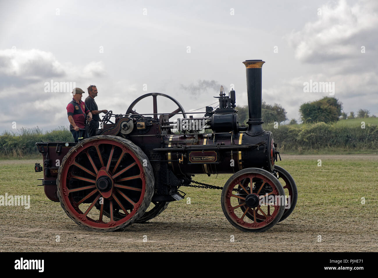 Allchin 7NHP General Purpose Steam Powered Traction Engine - Stock Image