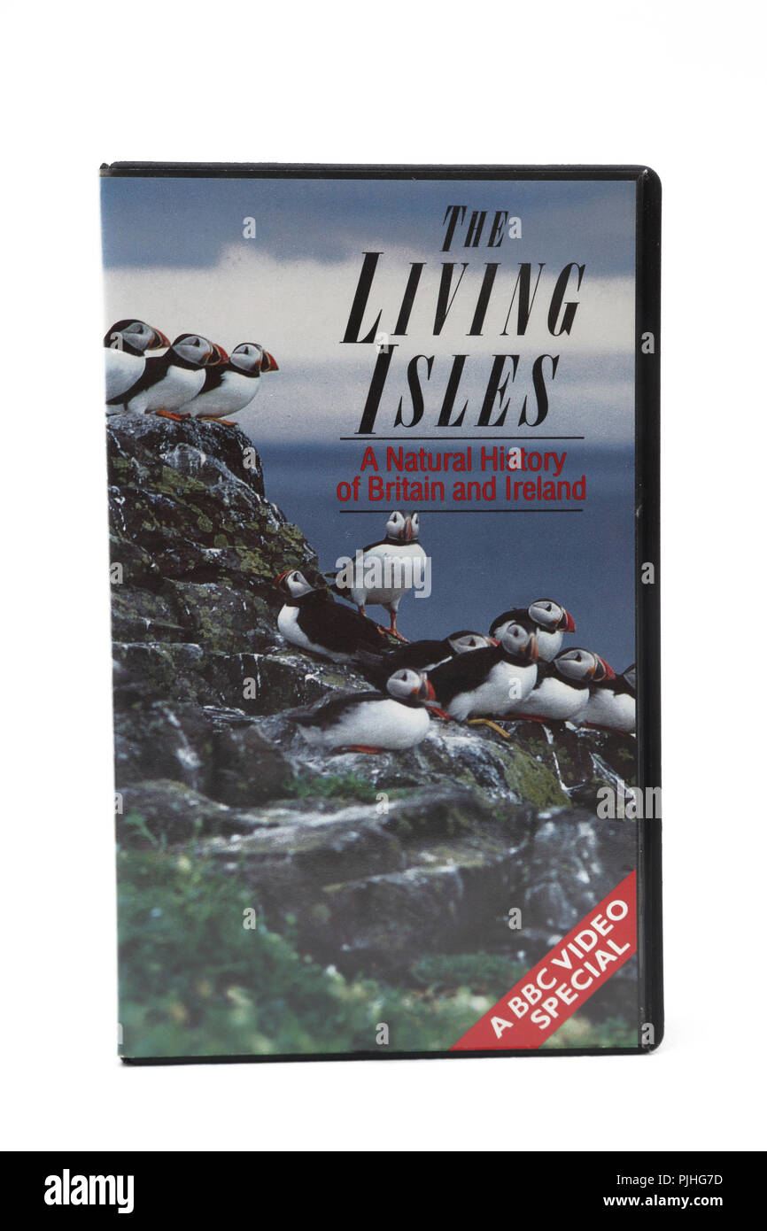 The Living Isles Natural history of Britain and Ireland Video - Stock Image