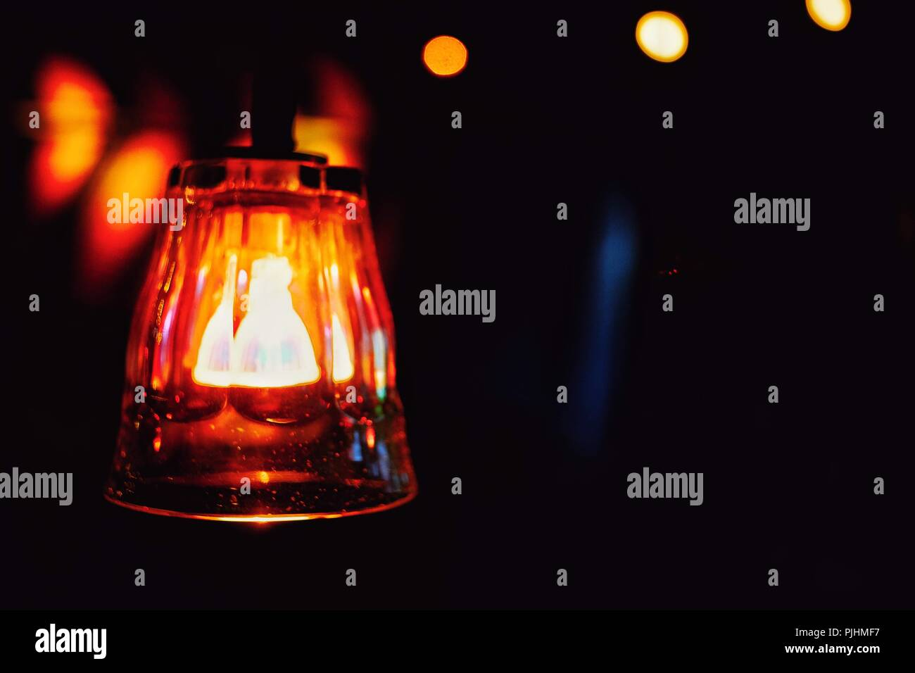 glass light - Stock Image