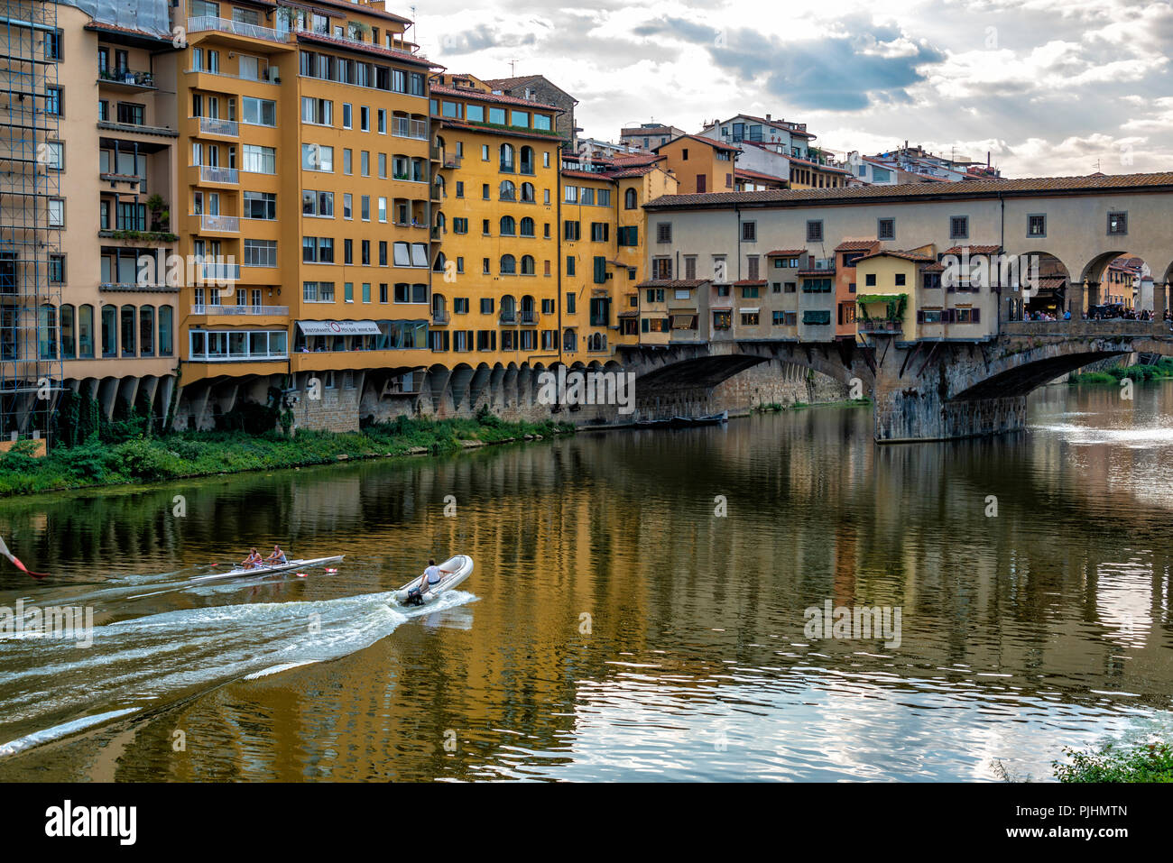 Landscape Views of Florence, Italy Stock Photo