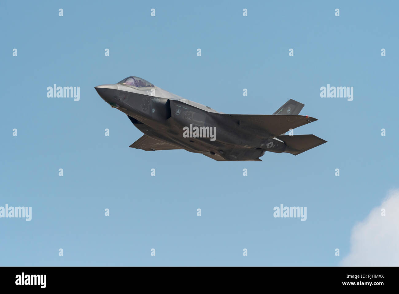 USAF F-35 Lightning, RIAT, RAF Fairford, UK Stock Photo