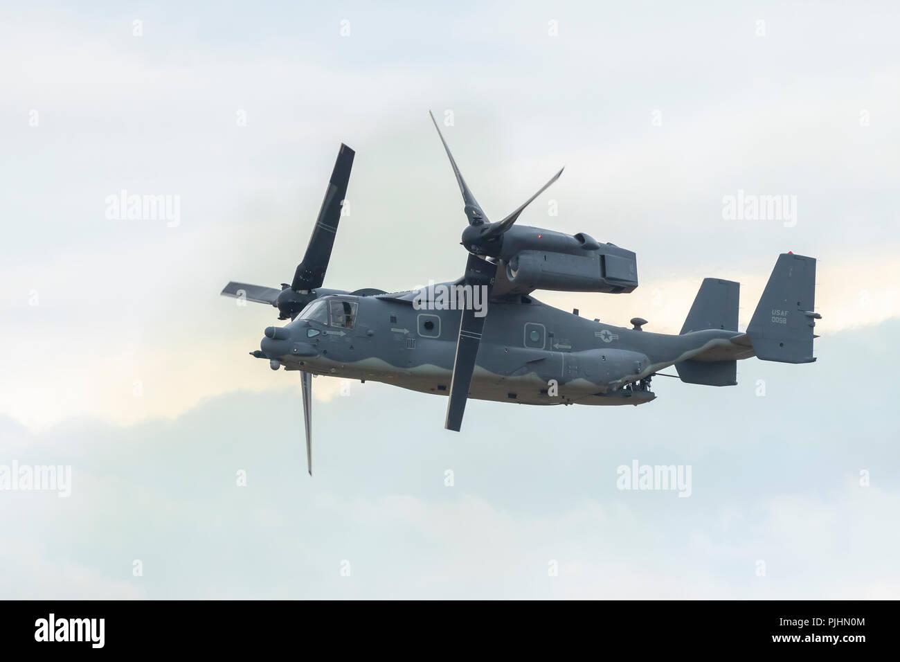 US Air Force CV-22B Osprey, RIAT, RAF Fairford, UK Stock Photo