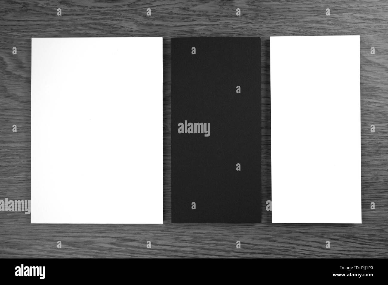 menu cover design template black and white stock photos & images - alamy