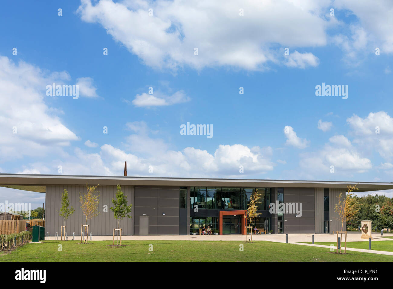 The Chadwick Centre at the International Bomber Command Centre, Canwick Hill, Lincoln, England, UK - Stock Image
