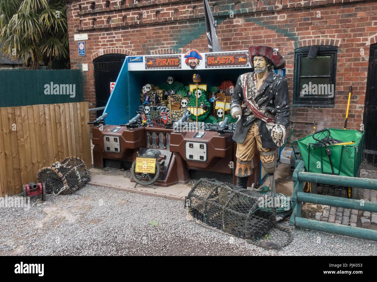 Zoo gift shop - Stock Image