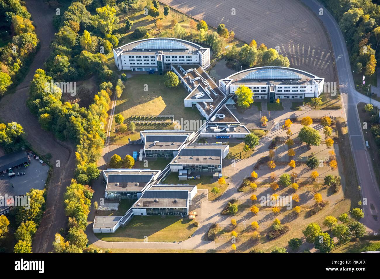 Aerial view, Gladbeck, Ruhr area, North Rhine-Westphalia, Germany - Stock Image