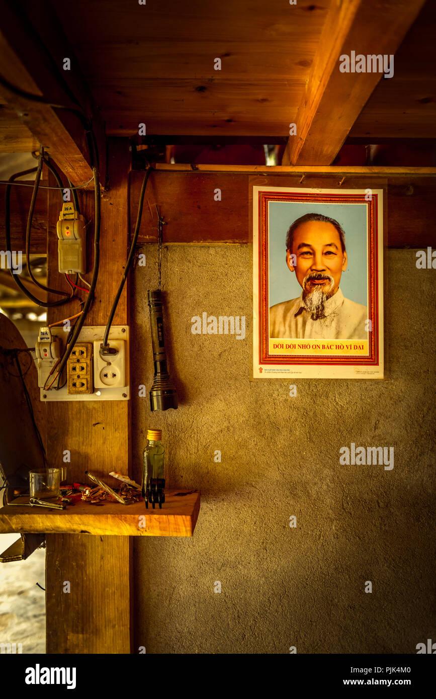 Asia, Southeast Asia, North Vietnam, Vietnam, Sapa, mountains, mountainscape - Stock Image