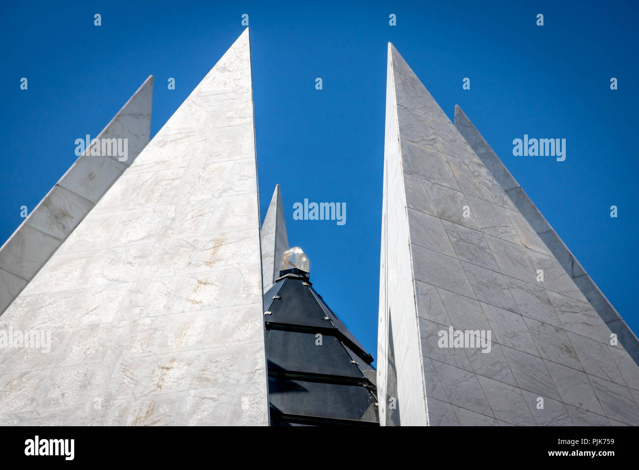 Crystal on top of Temple of Good Will (Templo da Boa Vontade) - Brasilia, Distrito Federal, Brazil - Stock Image