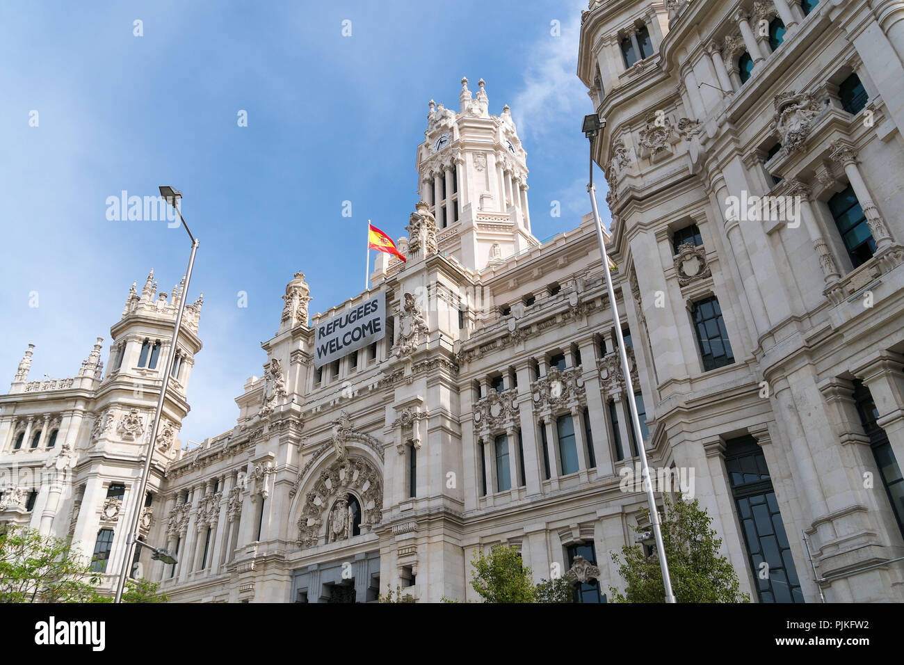 Madrid Plaza Cibeles Palacio Cibeles Centro Art And