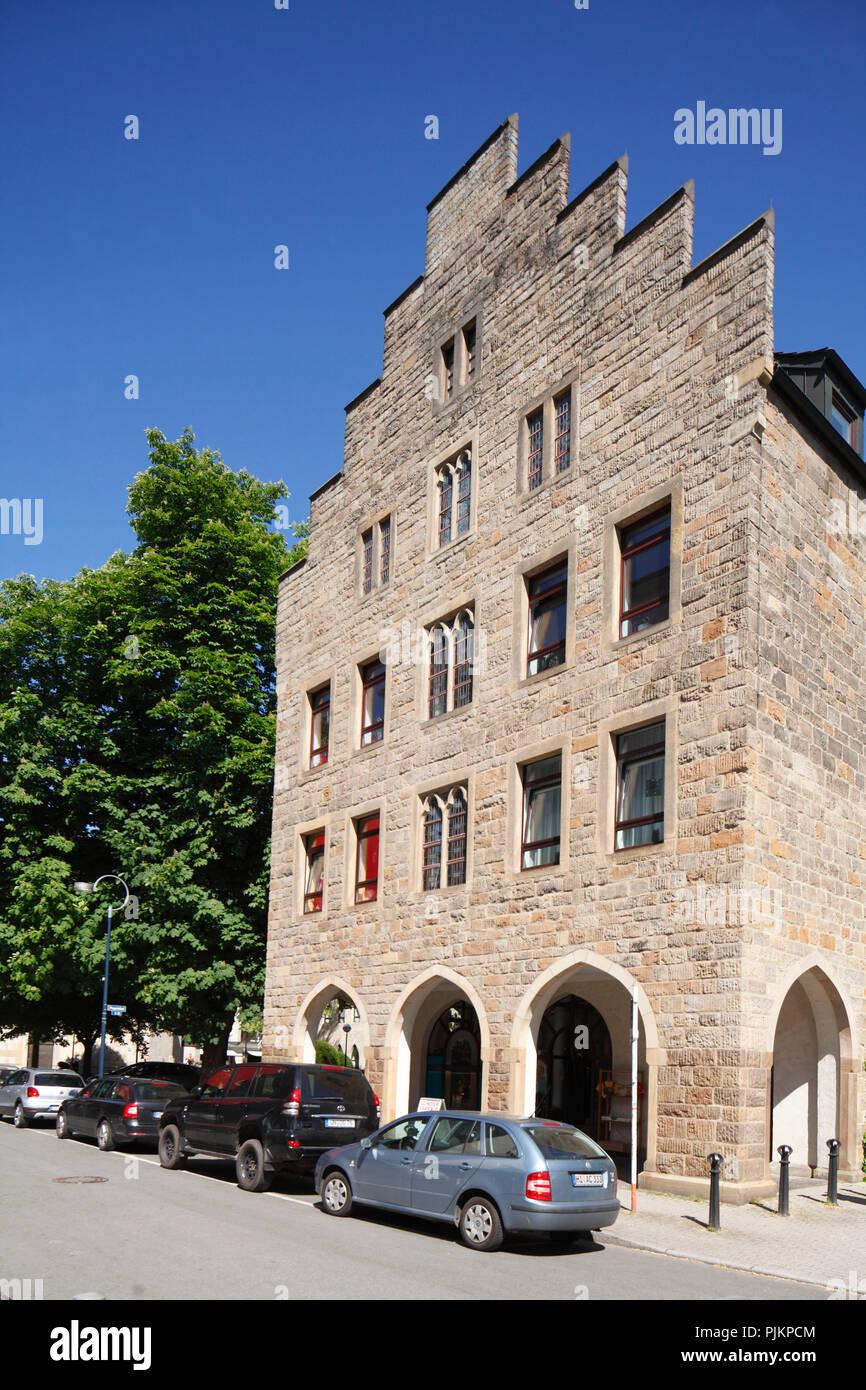 Propsteihof, Dortmund, Ruhr area, North Rhine-Westphalia, Germany, Europe - Stock Image